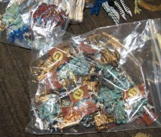 FIRE & ICE DRAGON WOODEN BOX MEGA BLOCS PLUS BLOCKS ETC MOST STILL