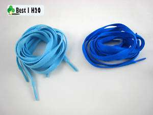 Sky blue and Blue Shoe Laces For any Brand Shoes