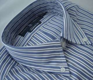 Nwt $85 Authentic POLO Ralph Lauren Mens Dress Shirt Blue Striped
