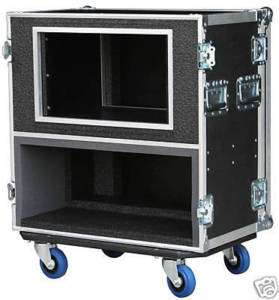 SAFECASE FOR Mesa Boogie Mark V Head with 8 SPACE RACK