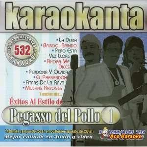 Karaokanta KAR 4532   Exitos Al Estilo De Pegasso Del