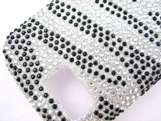 BLING CRYSTAL FACEPLATE CASE COVER SAMSUNG BEHOLD 2 II T939