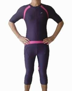 Womens Speedo Lycra 1 pc Swimsuit Sun Protection XL