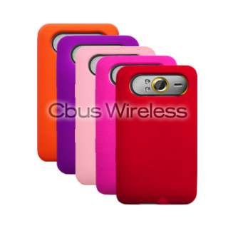 Five Silicone Cover Case+Car Charger for HTC HD7S / HD7