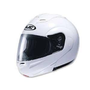 HJC Sy Max Full Face Modular Helmet Medium  White
