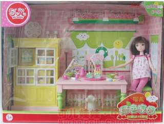 10 Joints Kurhn Doll 3029 Kitchen Superset Doll+Lots Sutff