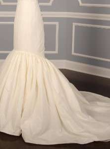 AUTHENTIC Anne Barge La Fleur Brogan Light Ivory Silk Taffeta Bridal
