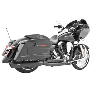 Freedom Performance Union 2 into 1 Black Exhaust for 1995 2011 Harley