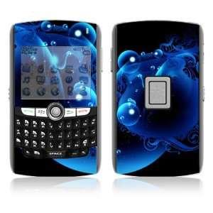 BlackBerry World 8800/8820/8830 Vinyl Decal Skin   Blue