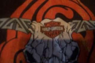 Mens Harley davidson T shirt sz small Bull skull