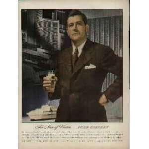 LORD CALVERT.  1943 LORD CALVERT Blended Whiskey Ad, A4362