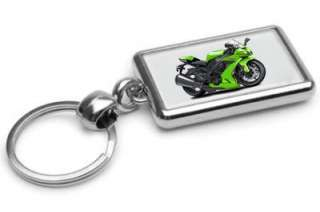 Kawasaki Ninja Street Bike Motorcycle Keychain NEW