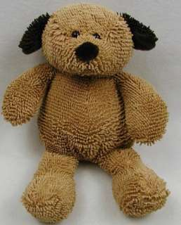 NWOT NEW Stephan Baby BROWN PUPPY DOG NUBS Nubby 11