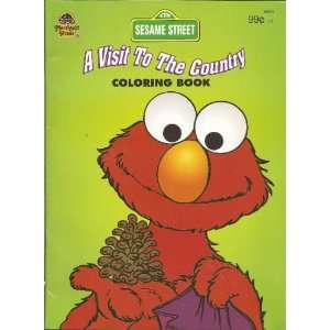 to the Country A Sesame Street Coloring Book (9780307096609) Books