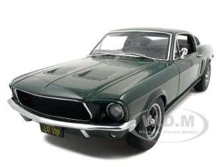 1968 FORD MUSTANG GT BULLITT STEVE MCQUEEN 118 AUTOART