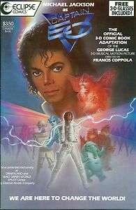 Captain Eo 3 D #1 Michael Jackson w/Glasses Eclipse 3 D Special #18
