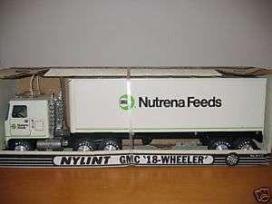 Nylint GMC Cargill Nutrena Feeds Cabover NIB Truck Semi