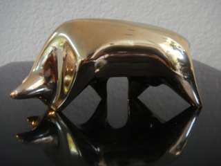 Bronze by Jose Fernandez The Bull Toro Sculpture Signed & Numbered