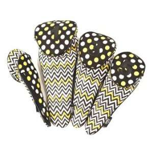 Glove It Ladies Golf Club Covers 4pc   Zig Zag  Sports