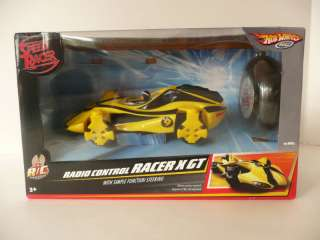 Hot Wheels Speed Racer Yellow Radio Control X GT NIB 027084580082