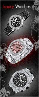 54CT DIAMOND FLOWER PAVE 18K BLACK GOLD RING