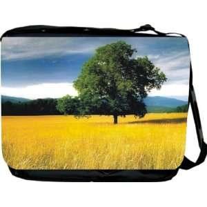 Rikki KnightTM Yellow Cornfield Messenger Bag   Book Bag