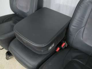 Ram LARAMIE BLACK FRONT LEATHER SEATS JUMP SEAT CENTER CONSOLE