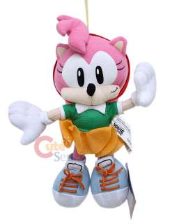 Sega Sonic Hedgehog Amy Rose 10 Plush Doll :Original