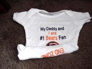 Chicago Bears Football Baby Infant Newborn Onesie