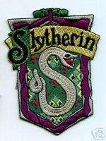 BRITISH PATCH HARRY POTTER HOUSE OF SLYTHERIN CREST