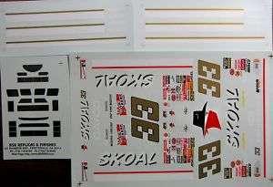33 Ken Schrader 1997 Skoal Bandit Chevy Monte Carlo