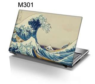 15.6 Laptop Skin Sticker Decal Great Wave at Kanagawa Classic Art 301