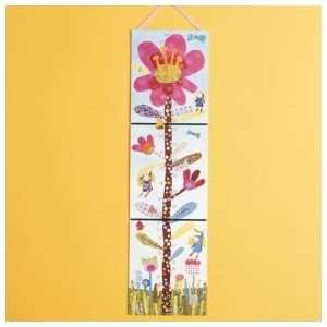Kids Daisy Theme Growth Chart, Miss Daisy Growth Chart
