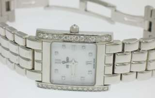 CONCORD LaTour 14k White Gold Diamond Mother of Pearl Ladies Watch 66