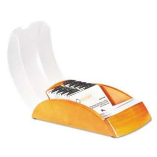 Rolodex Cherry Covered Tray Business Card File 200 Card 071912665519