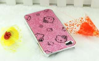 New Shiny Hello Kitty Cute Hard Case Cover For Apple iPhone4S 4G SHK1