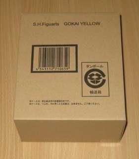 SH Figuarts(SHF) Kaizoku Sentai Gokai Yellow Figure & Darin Tamashii