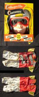 vintage 1969 Collegeville Costumes Hot Wheels Child Small Costume with