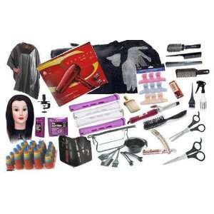 Cosmetology School Student Kit Tote Bag Manikin head