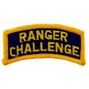 Army Ranger Challenge Patch 2 1/2