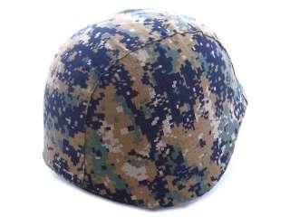 USMC Army Digital Camo Woodland M88 PASGT Helmet Cover