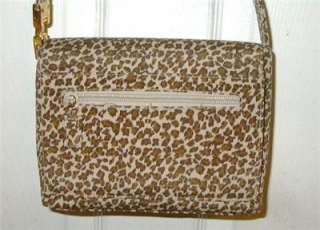 Great Leopard Print Handbag Purse NWOT