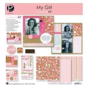 My Girl Scrapbook Page Kit 12x12 scrapbookit Arts