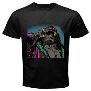 Macho Man Randy Savage Black T Shirt Size S   3XL