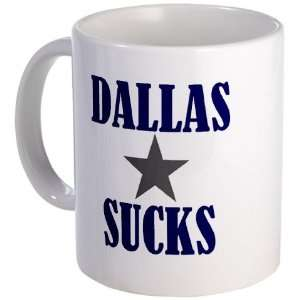Dallas Sucks Redskins Fan Coffee Mug Sports & Outdoors