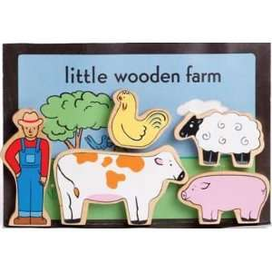 Jack Rabbit Little Wooden Farm Characters Toys & Games