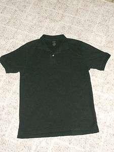 EUC Saddlebred L Mens Black Short Sleeve Polo Style Shirt