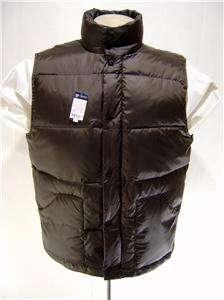 Daniel Cremieux 80% Down Mens Vest M POLO Zip Quilted Pocket Button