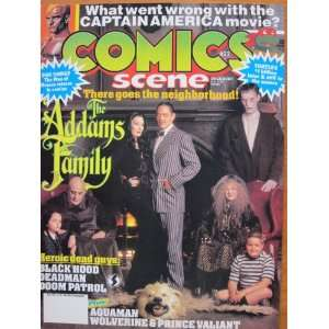 Comics Scene #23, December 1991: Starlog Communications: Books