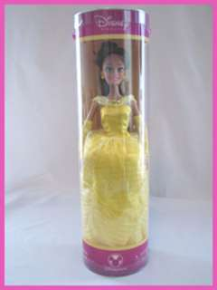 New DISNEY Princess BELLE Barbie Doll, 11 1/2